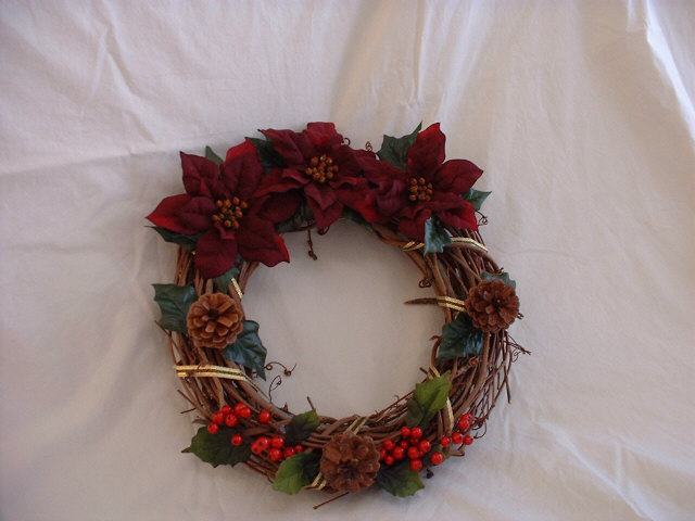 Redflower wreath